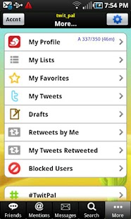 TwitPal for Twitter - screenshot thumbnail