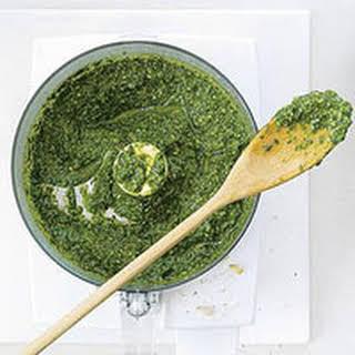 Pesto.