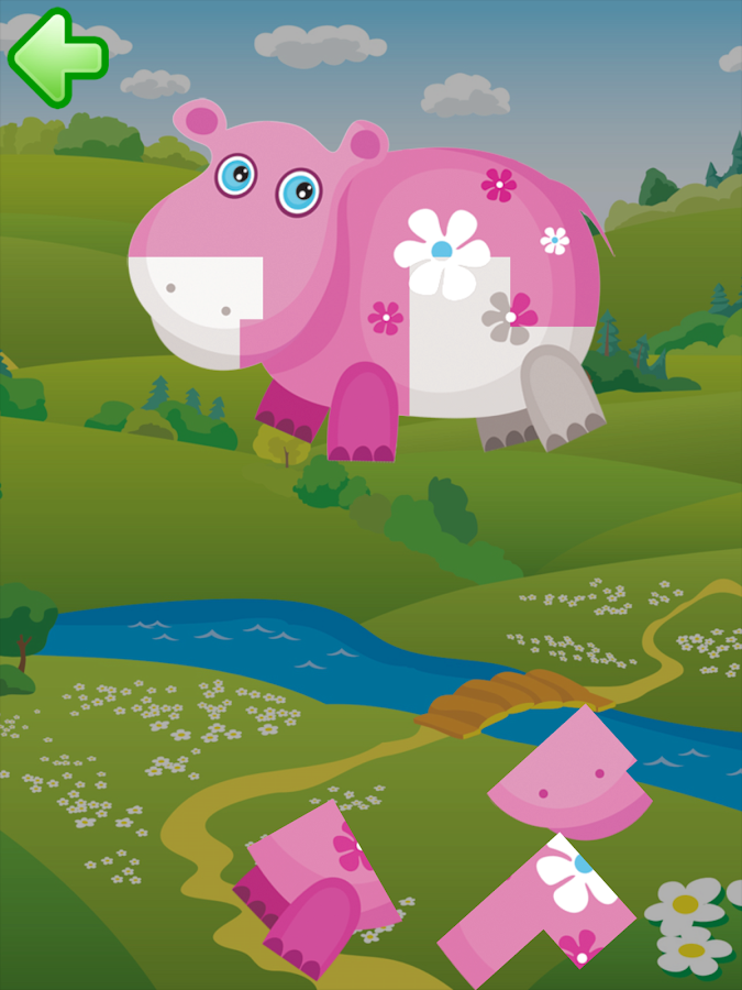 Animal puzzle for kids HD- screenshot