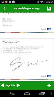 Pdf signing app android
