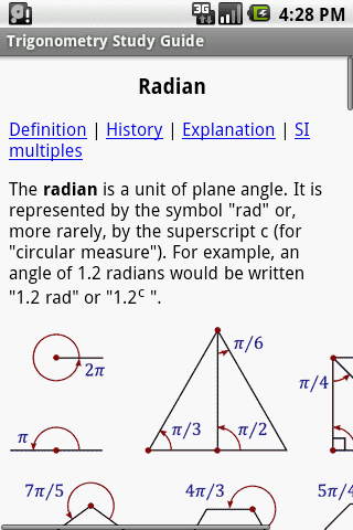 a study on trigonometry This chapter explains how the trig functions of explaining the basic trigonometric functions using are the key for all future trigonometry study.
