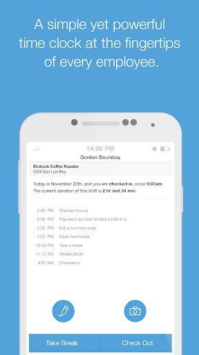 Boomr - Employee Time Clock