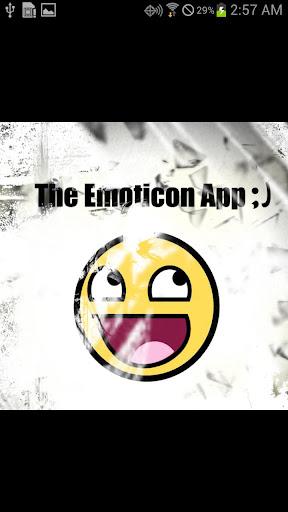 The Emoticon App =