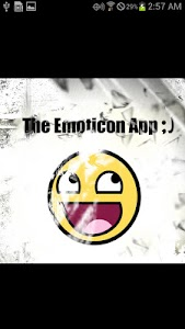 The Emoticon App =) screenshot 0