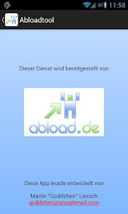 Abloadtool (abload.de)- screenshot thumbnail