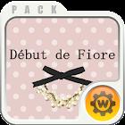 Debut de Fiore search widget icon