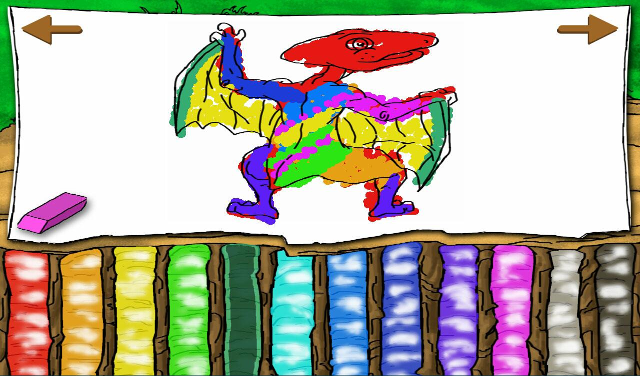 Terry the Dinosaur Storybook- screenshot