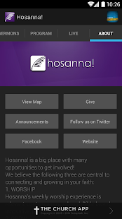 Hosanna! Church - screenshot thumbnail