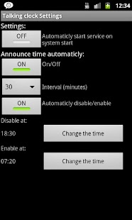 Talking Clock - screenshot thumbnail