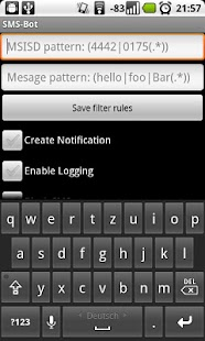 SMS-Filter - screenshot thumbnail