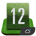 soccer weather clock widget icon