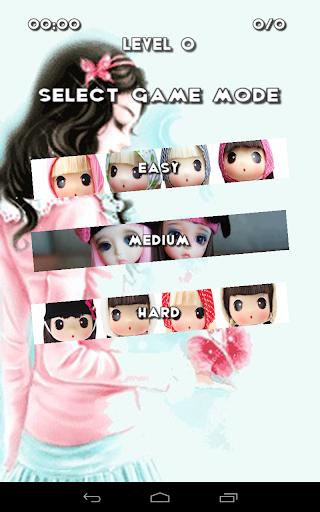 可愛的娃娃拼圖