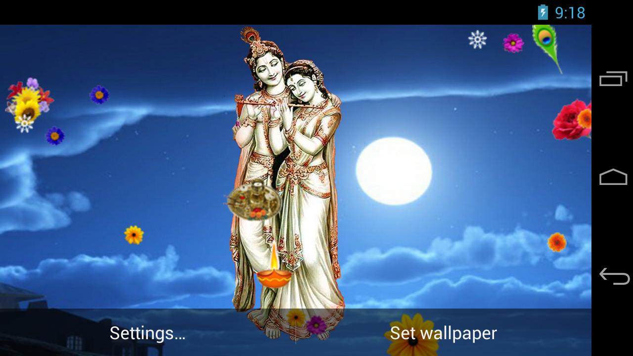 Loves krishna nice hd wallpapers krishna hd wallpapers wallpaper - Radha Krishna Live Wallpaper Screenshot
