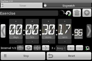 Screenshot of StopTimer - Stopwatch & Timer