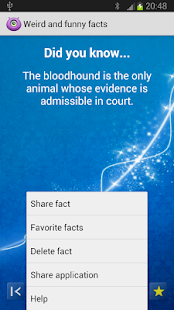 Weird and funny facts - screenshot thumbnail