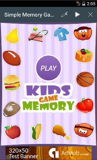 Simple Memory Game