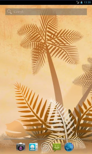 Summer Palms Live Wallpaper
