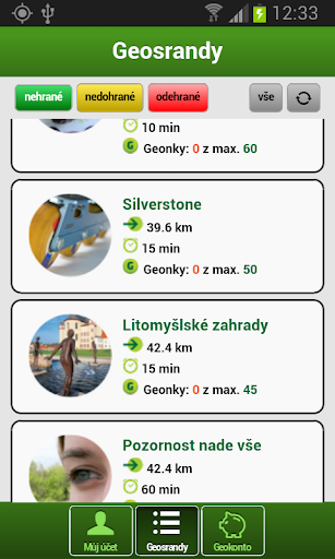 GEOFUN - geolokační hry