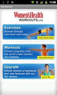 Women's Health Workouts Lite- screenshot thumbnail