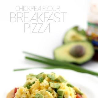 Chickpea Flour Breakfast Pizza