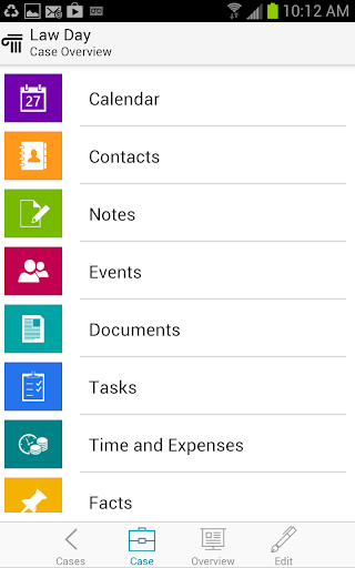 CaseManager for Android