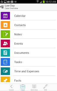 CaseManager for Android- screenshot thumbnail