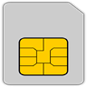 Contacts on SIM Card icon