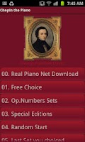 Screenshot of Chopin 64
