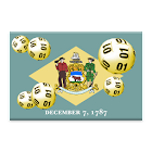 Delaware winning numbers icon