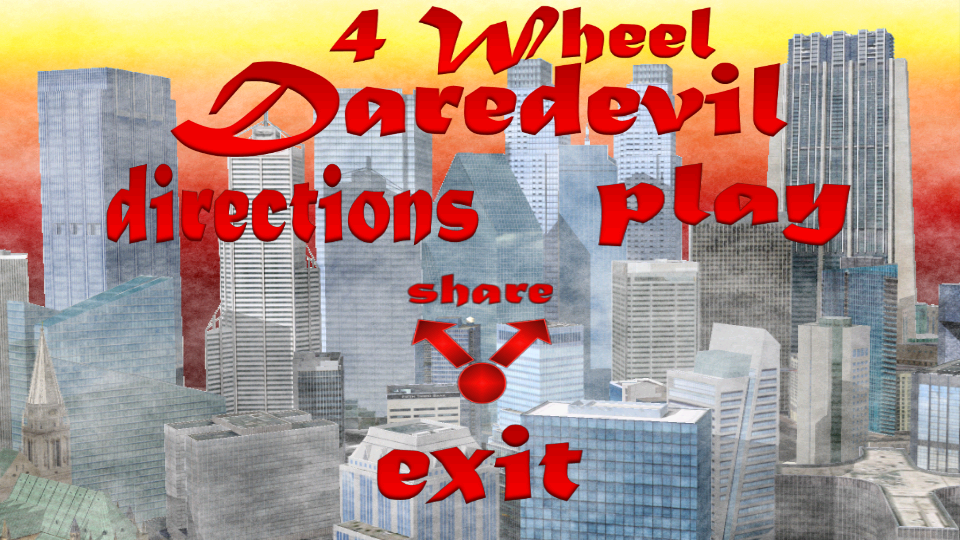 4-Wheel Daredevil NO ADS - screenshot
