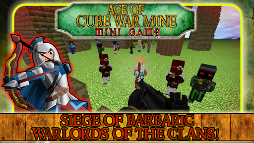 Age of Cube War Mine Mini Game