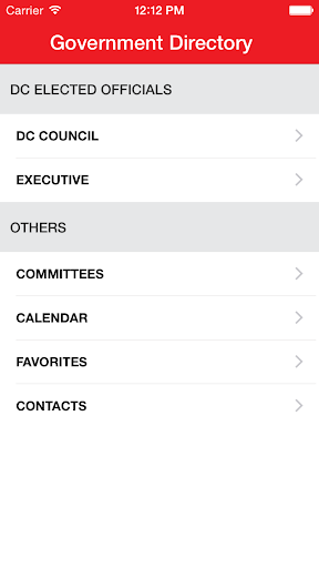 DC Government Directory