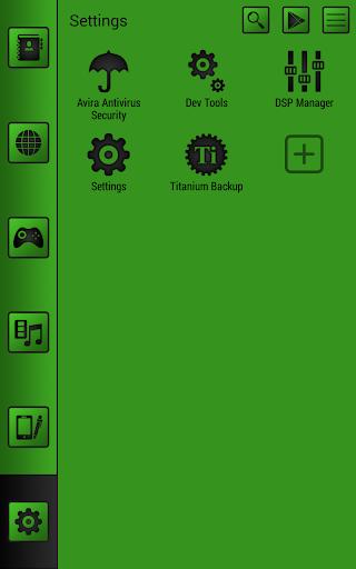 玩免費個人化APP|下載Smart launcher theme SoftGreen app不用錢|硬是要APP
