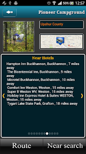 West Virginia Campgrounds- screenshot thumbnail