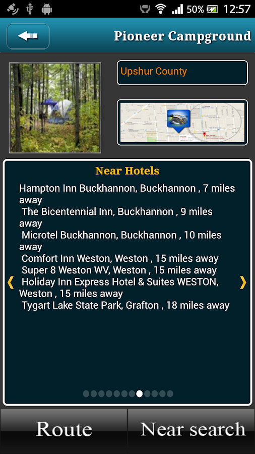 West Virginia Campgrounds- screenshot