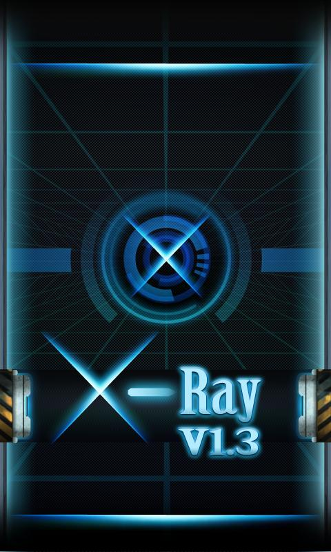 X-Ray GO Launcher Getjar Theme - screenshot