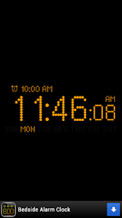 Bedside Alarm Clock Free- screenshot thumbnail