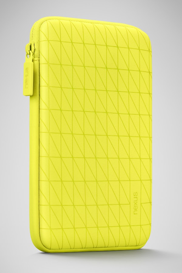 Nexus 7 Sleeve - Bright Yellow - screenshot