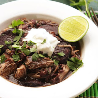 Quick and Easy Pressure-Cooker Chicken and Black Bean Stew