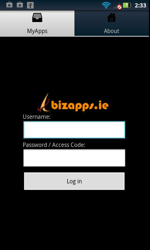 bizapps - screenshot