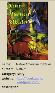 Native American Folk Tales - screenshot thumbnail