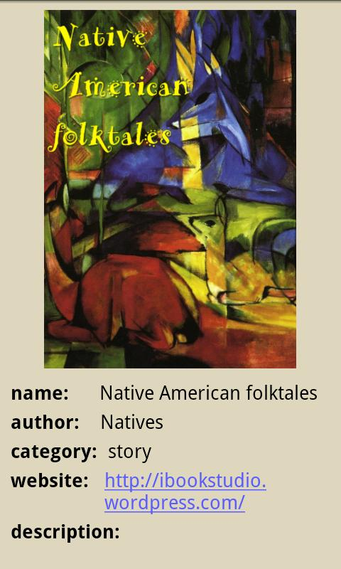 Native American Folk Tales - screenshot
