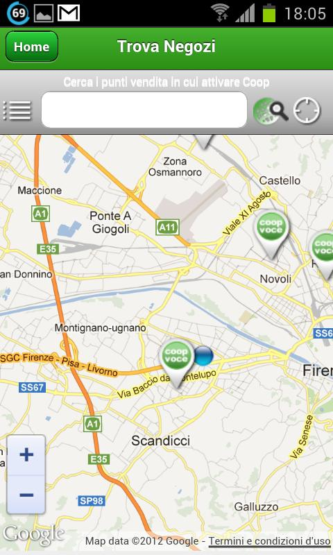 Coopvoce android apps on google play for Area clienti 3 servizi in abbonamento