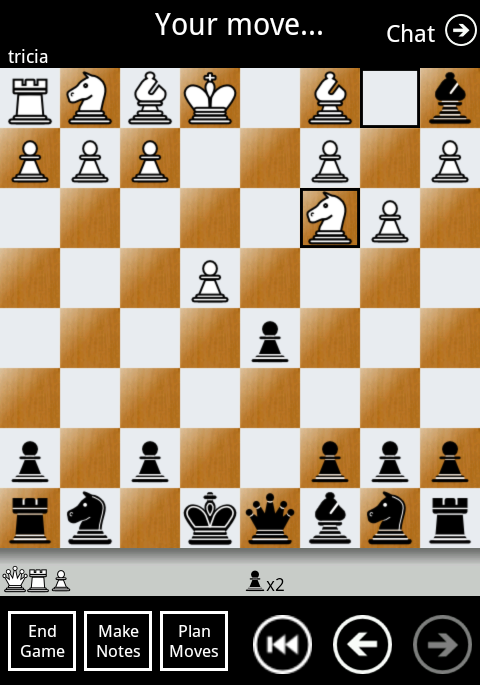 Chess By Post Free - screenshot