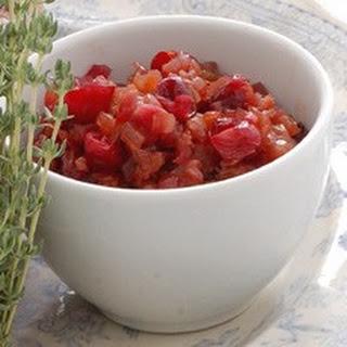Cranberry and Onion Confit Recipe
