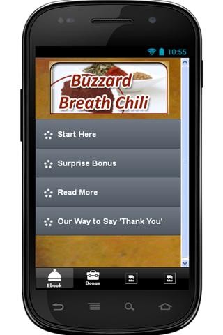 Buzzard Breath Chili Recipe