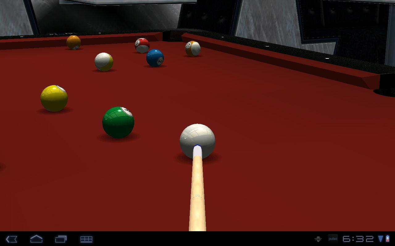 Virtual Pool Mobile- screenshot