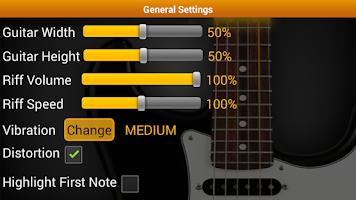 Screenshot of Guitar Riff Free