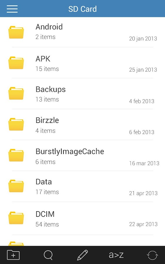File Manager - File explorer - screenshot