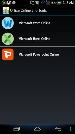 Office 365 keyboard shortcuts